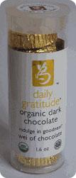 Daily Gratitude Chocolate