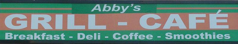 Abbeys Sign